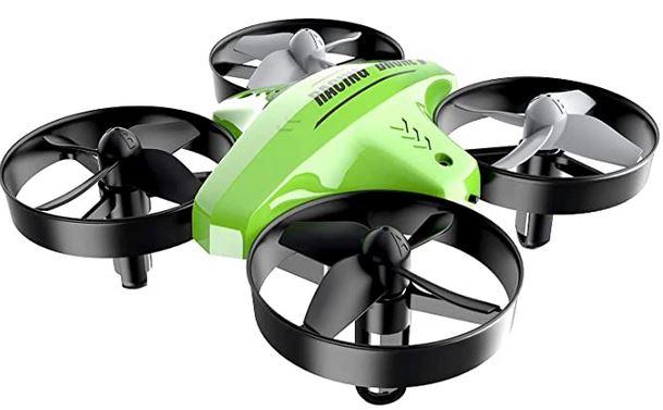 ATOYX mini drone de course racer vert et noir pouvant voler et etre pilote a linterieur modele pour enfant et adolescent