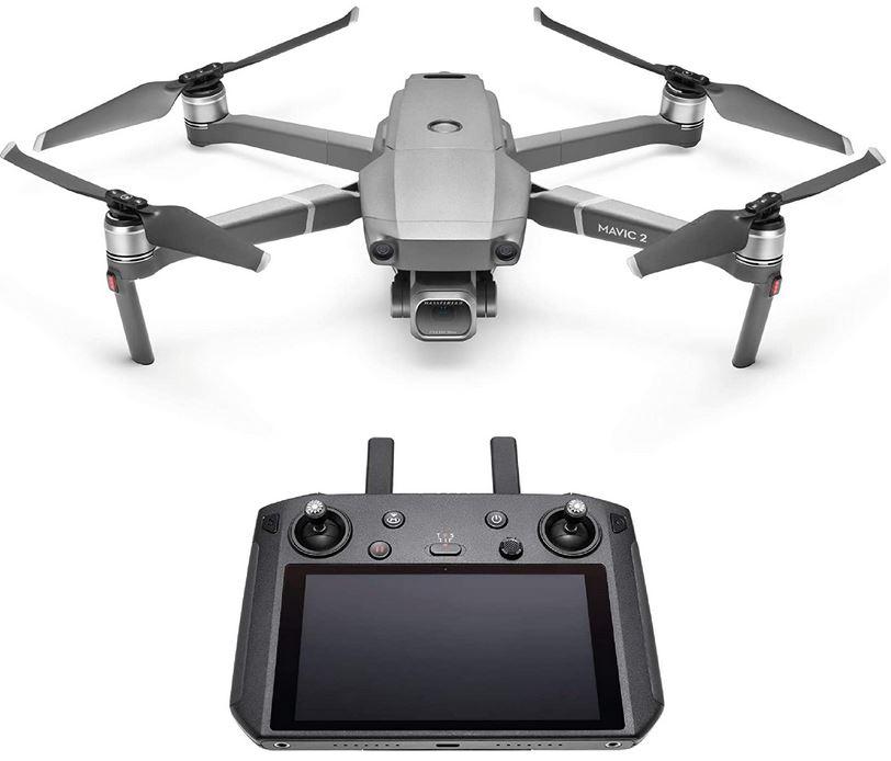 DJI Mavic 2 Pro avec manette de controle intelligente et camera hasselblad L1D 20c 4k HDR 10 bits pour les videos