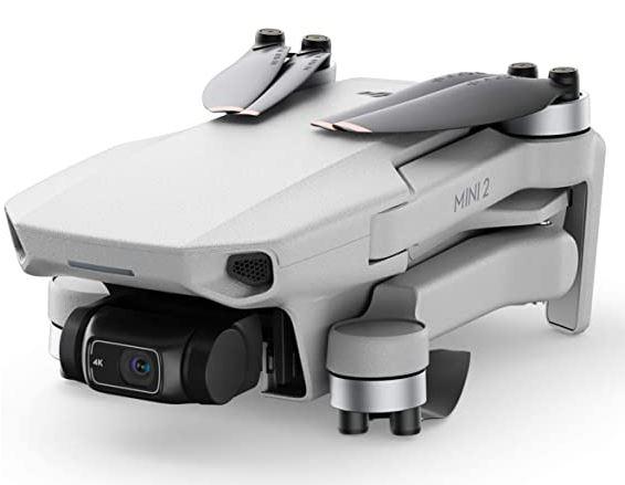 DJI Mavic Mini 2 Fly More Combo photo du drone plie