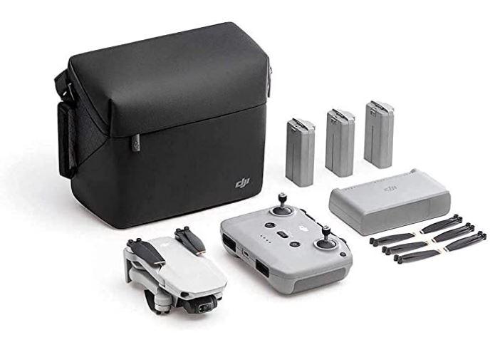 DJI Mavic Mini 2 Fly More Combo tous les accessoires et la sacoche de transport