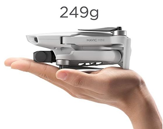 DJI Mavic mini un des meilleurs drone taille miniature au monde