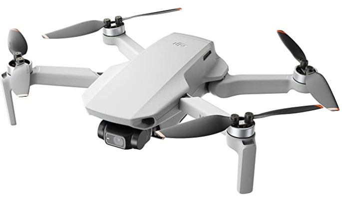 DJI Mini 2 drone pliable tres leger avec fonction FPV 4k transmission HD et bien plus