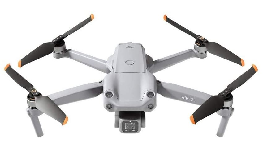 Drone DJI Air 2S Quadcopter et sa camera 4k ultra sophistiquee