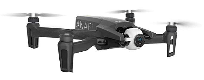 Parrot Anafi drone FPV leger et pliable avec lunette FPV cockpitglasses 3