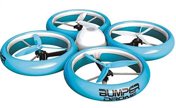 Silverlit Flybotic by bumper drone drone pour enfant avec protection anti chcoc bleu ciel