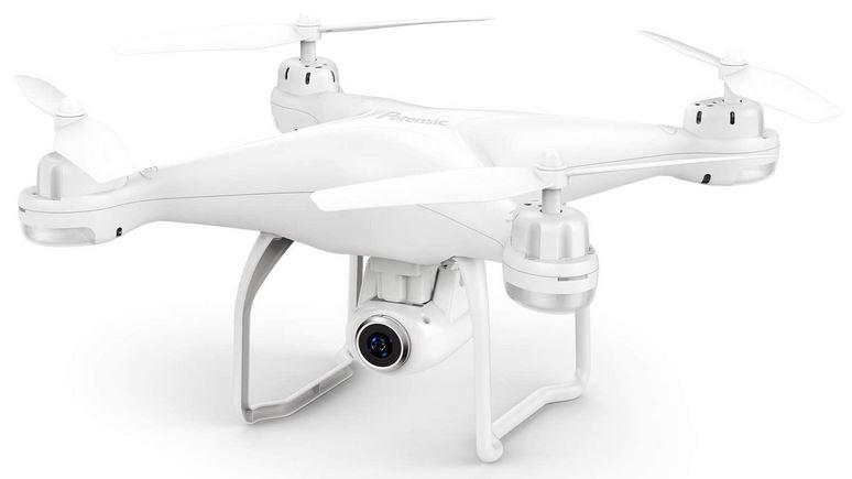 drone FPV blanc de la marque Potensic