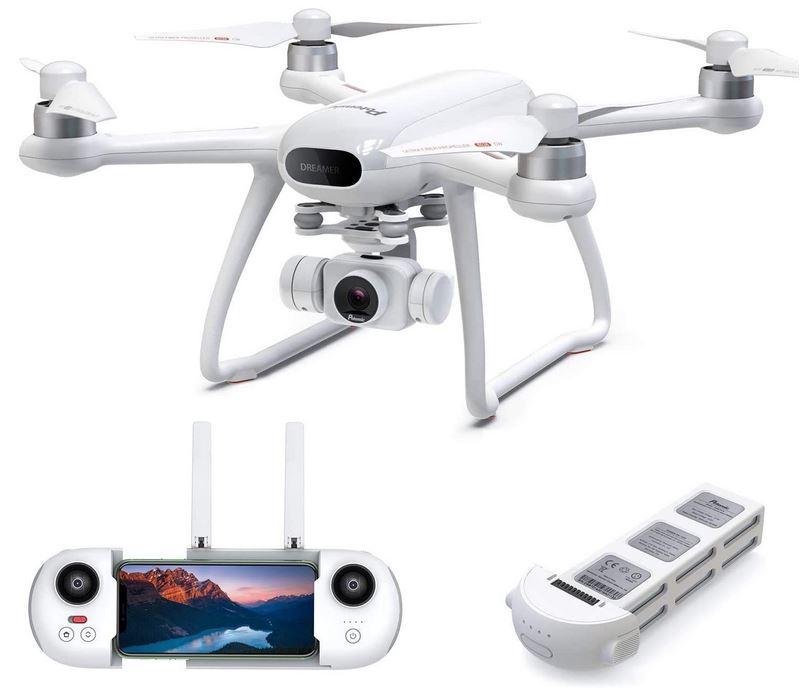drone Potensic dreamer blanc et gris avec sa camera 4k HD pour adulte