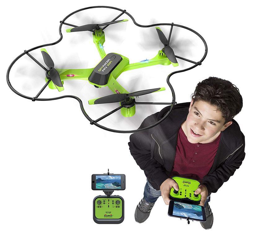 drone pour enfant de la marque Silverlit modele Flybotic jouet avec camera integree