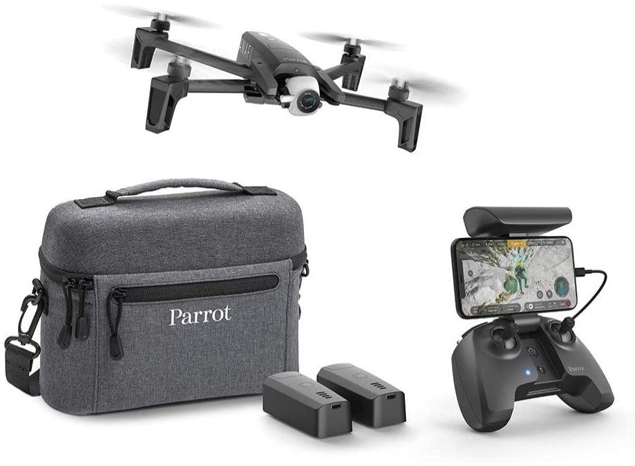 tres bon drone Anafi equipe dune excellente camera 4k HDR de la marque Parrot